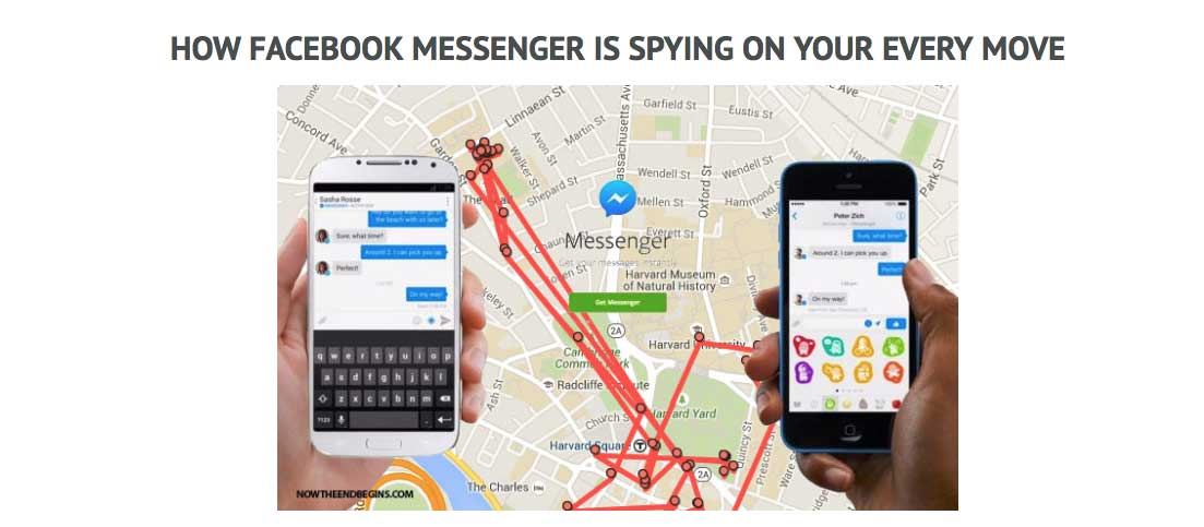 Facebook Messanger App Spying on You